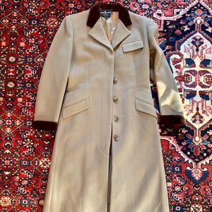 Ralph Lauren Wool Topcoat Beige size 4
